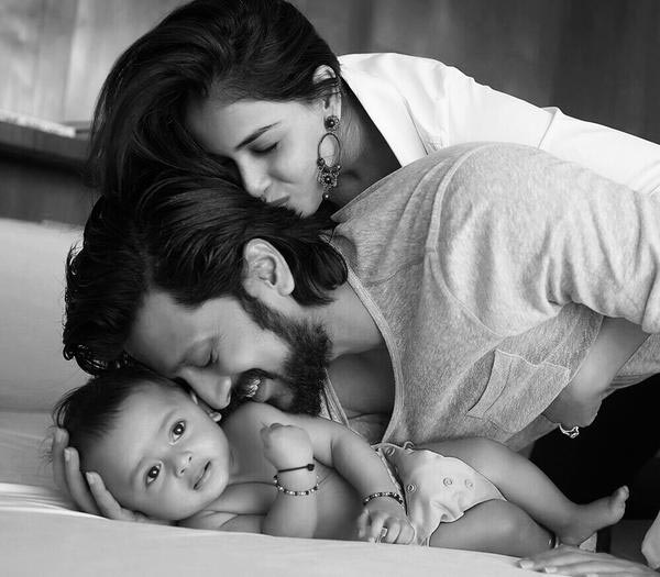 10 Most Adorable Star Kids that you will swoon over!-Genelia, Riteish and Riaan