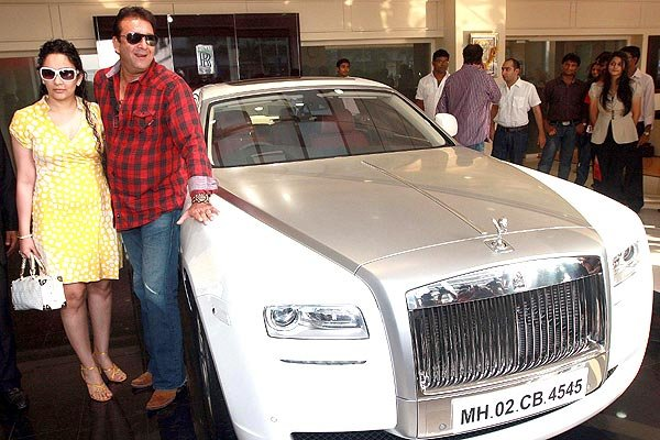 10 Celebrities who own EXORBITANT LUXURY RIDES- Sanjay Dutt