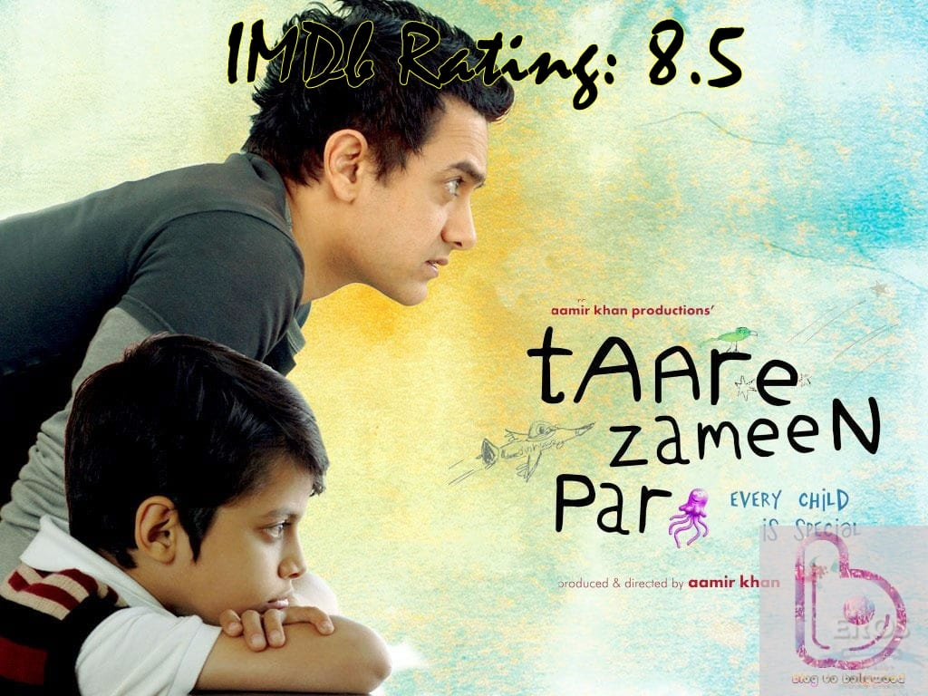 10 Top Imdb-Rated Movies of Aamir Khan-Taare Zameen Par