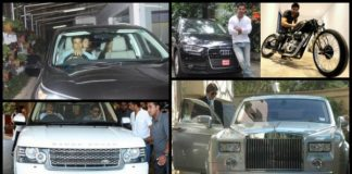 Bollywood Stars And Their Luxury Cars