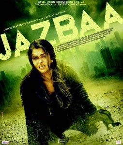 Aishwarya in First look of Jazbaa