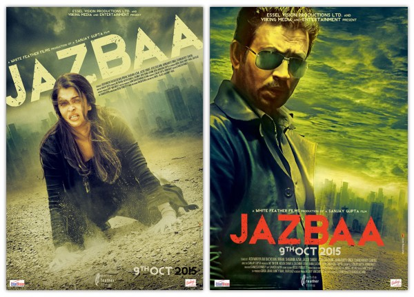 Jazbaa Motion Poster feat. Aishwarya and Irrfan