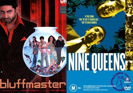 10 Bollywood Movies you didn't know were Hollywood Copies - Bluffmaster