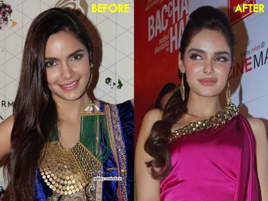 Shazahn Padamsee-Before & After