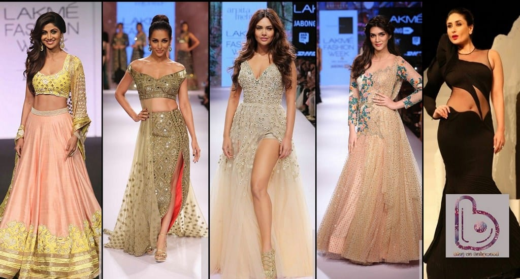 Which Actress rocked the ramp in Lakme Fashion Week?
