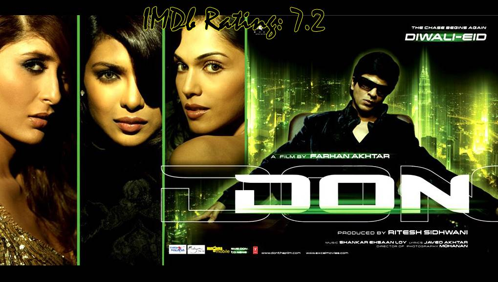 10 Best Movies Of Priyanka Chopra - Don
