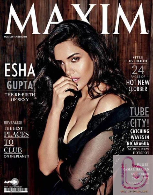 Esha looks Smoking Hot On Maxim September Issue!