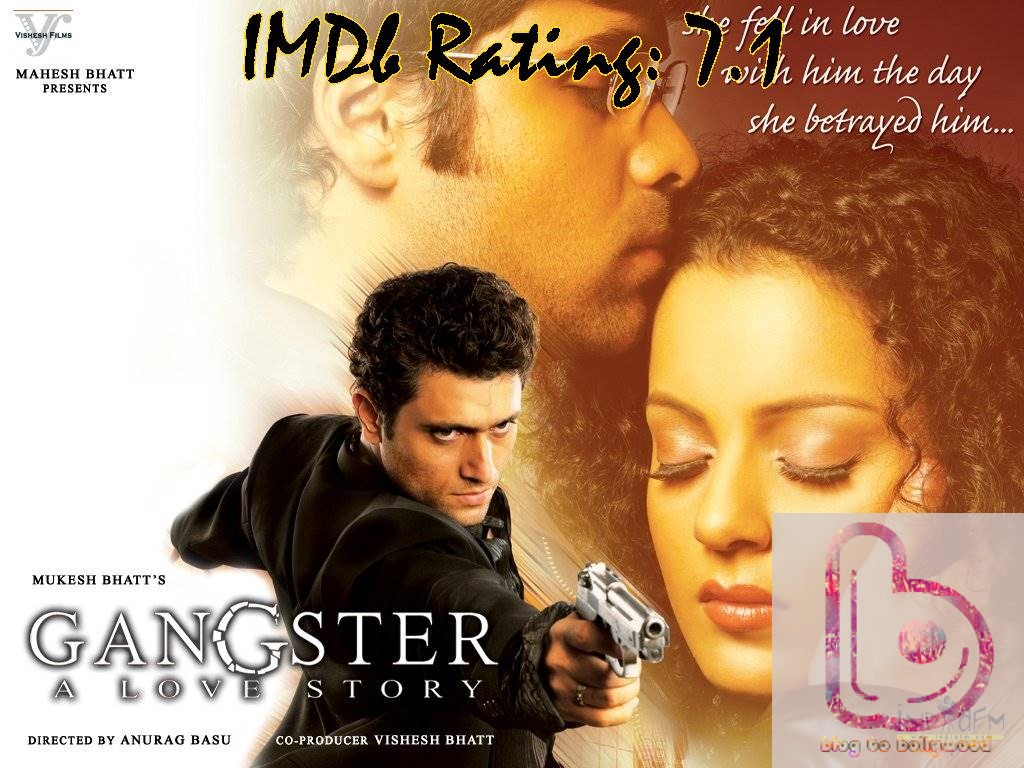 10 Top IMDb-Rated Movies of Kangana Ranaut- gangster