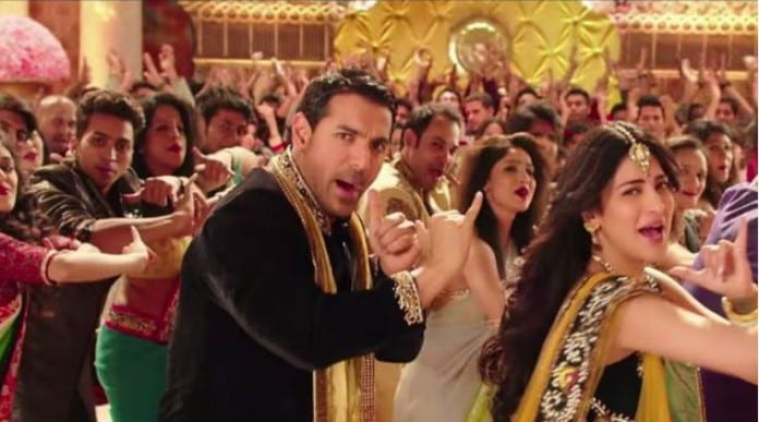 John and Shruti in Welcome Back