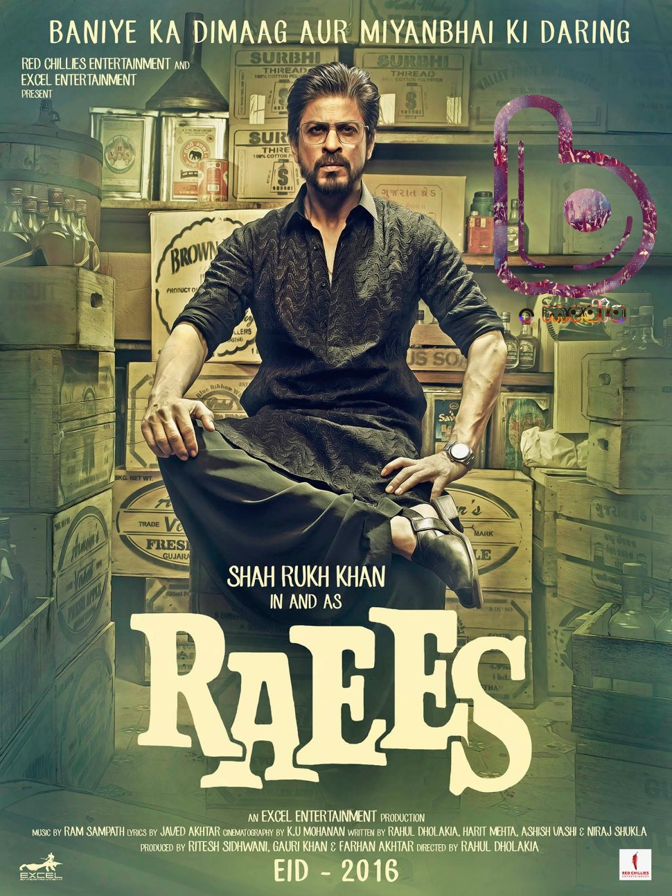 Most Awaited Bollywood Movies releasing in 2016 - Raees
