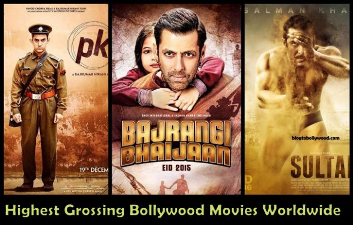 Top 10 Highest Grossing Bollywood Movies Worldwide