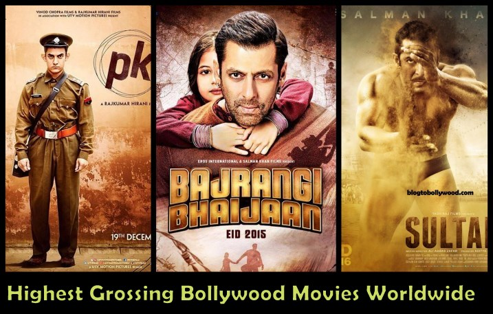 Top 10 Highest Grossing Bollywood Movies Worldwide | Top Worldwide Grossers
