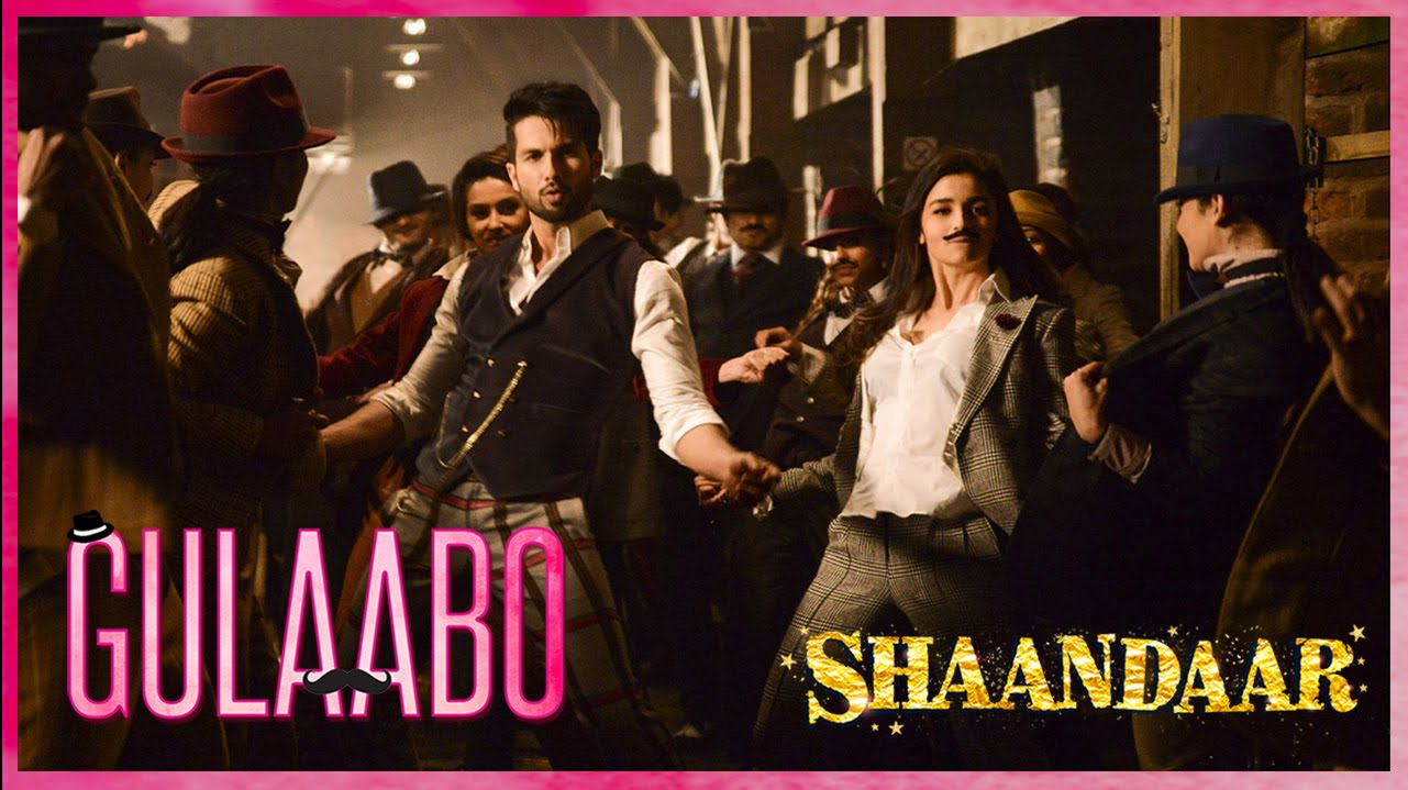 Check out the first song 'Gulaabo' from Shandaar!