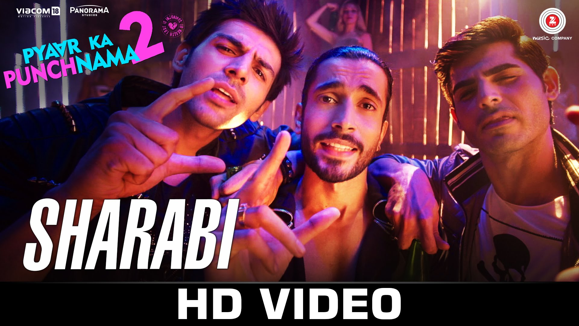 'Sharabi' from Pyar Ka Punchnama 2- Let's get drunk!