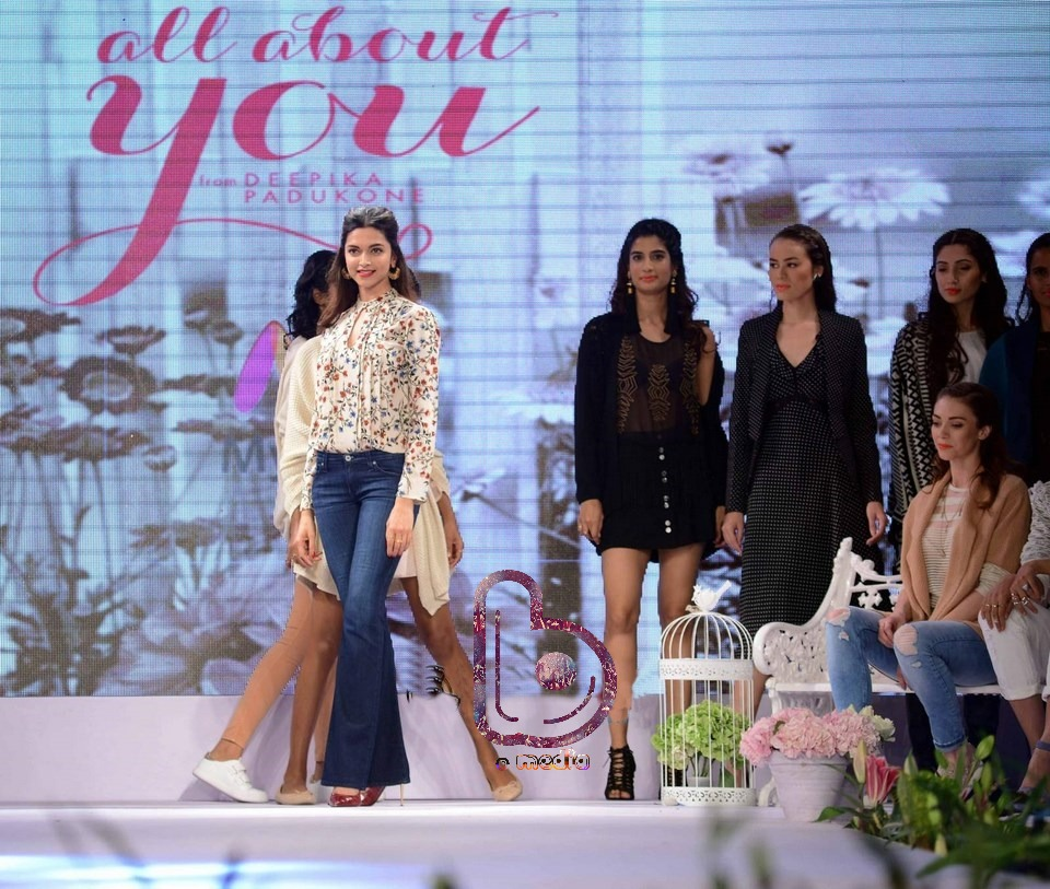 "Deepika Padukone launches ""All About You"" 
