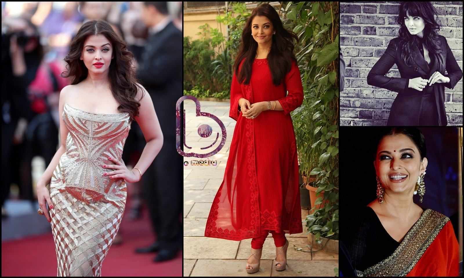 Bollywood Actresses who Rock both the Indian and the Western look!- Aishwarya