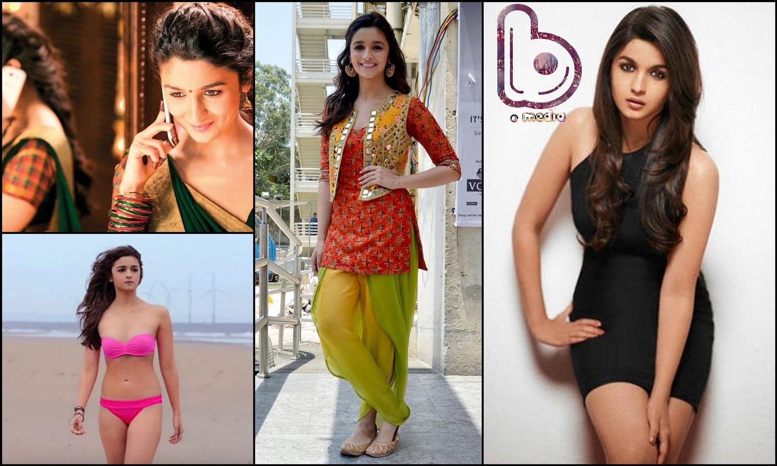 Bollywood Actresses who Rock both the Indian and the Western look!- Alia Bhatt