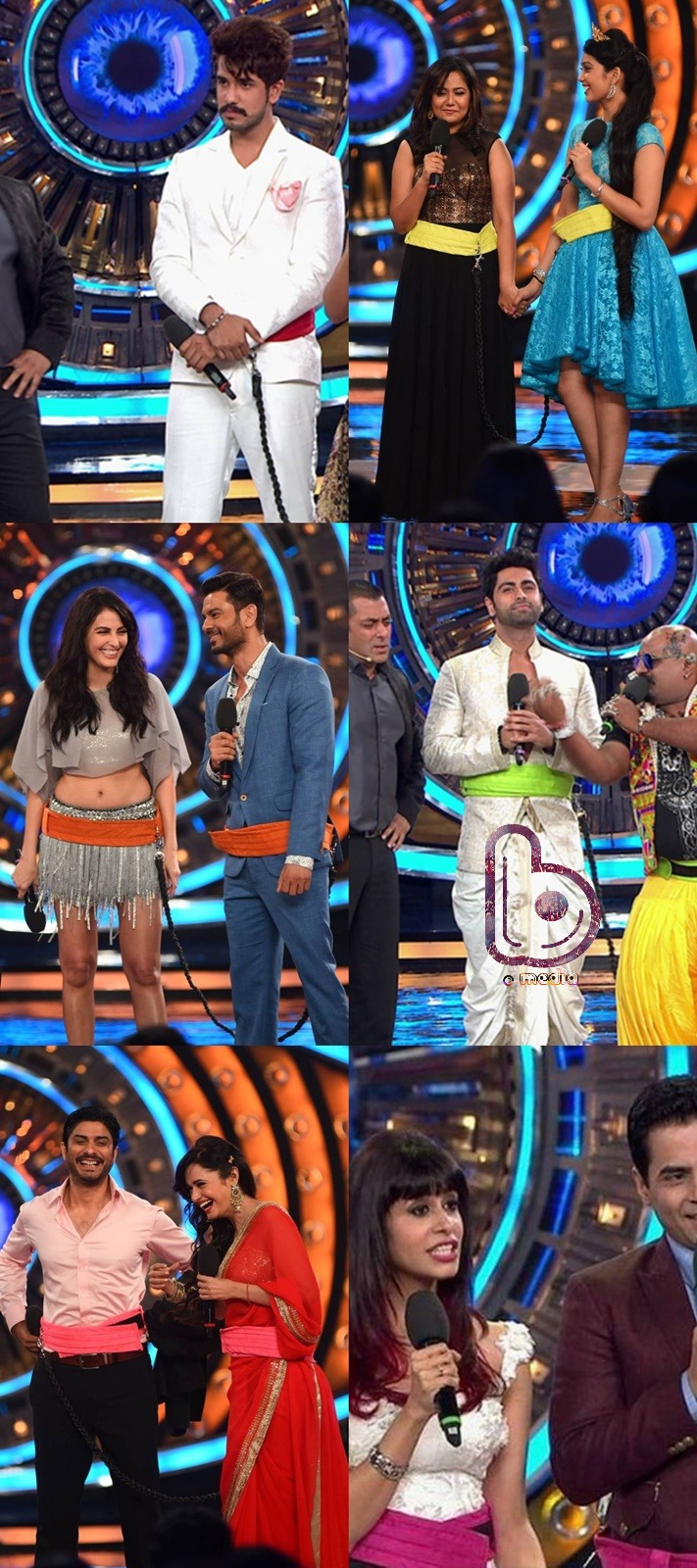 Bigg Boss 9  First Episode Highlights - contestants
