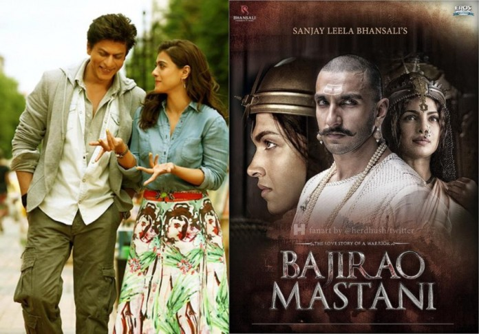 Dilwale and Bajirao Mastani Clash