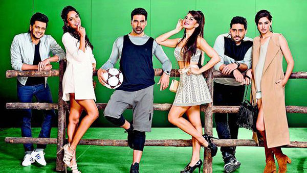 Housefull 3 First Look Is Quite Ordinary