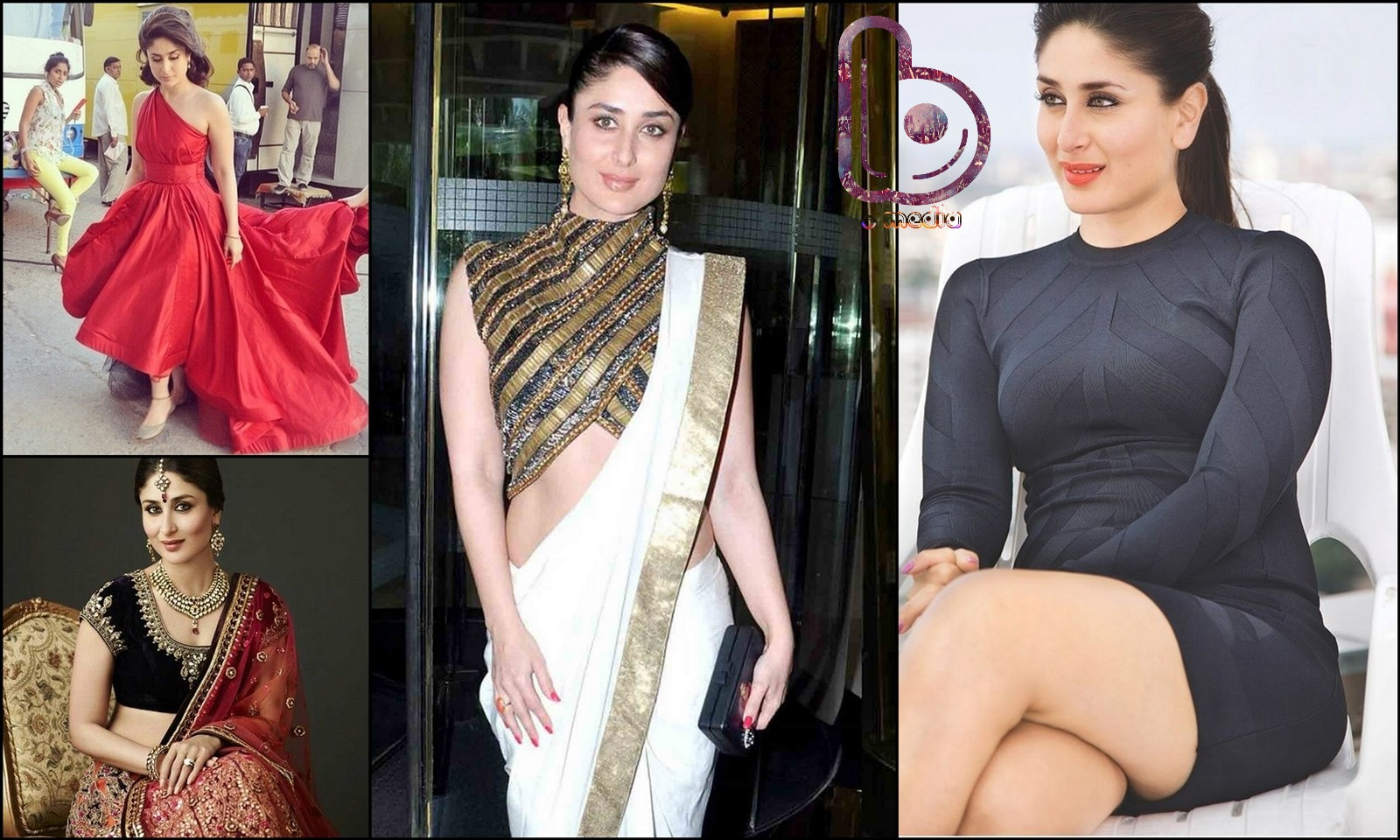 Bollywood Actresses who Rock both the Indian and the Western look!-Kareena