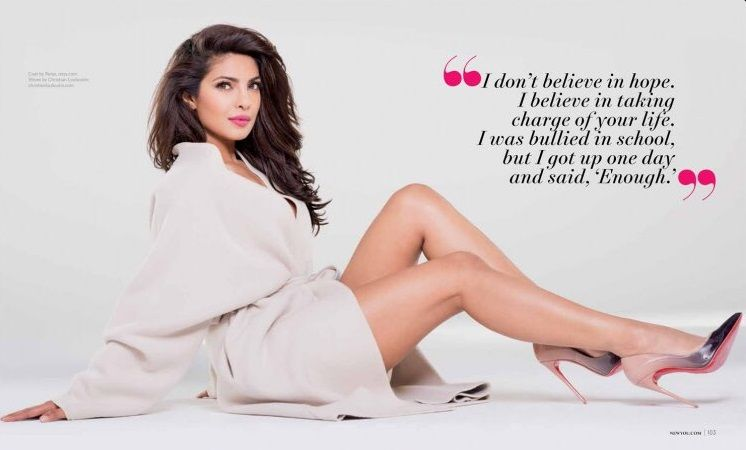 The power of Priyanka Chopra in 'New You' magazine cover!- New you