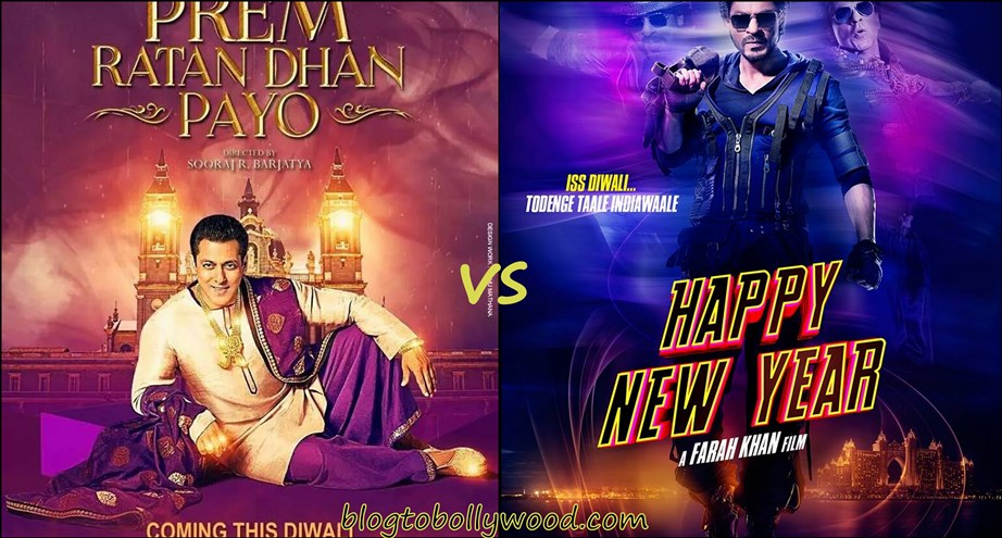 Prem Ratan Dhan Payo vs Happy New Year