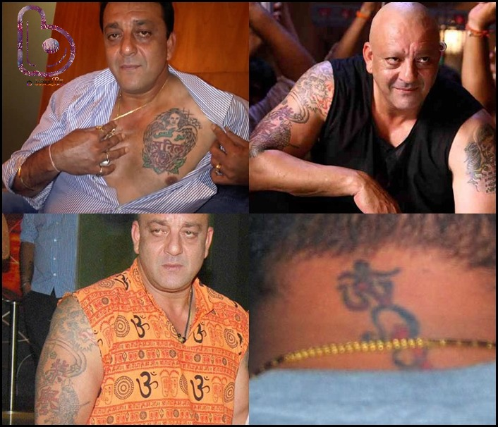Bollywood Celebs and their Awesome Tattoos!- Sanjay