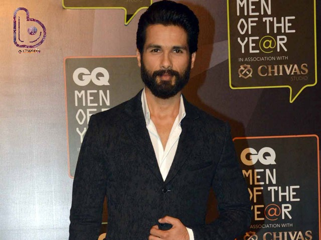 Shahid Kapoor is all geared up for his next 'Rangoon'!