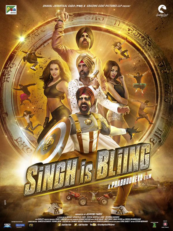 Singh Is Bling Screen Count and Advance Booking Report