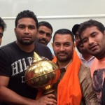 Special Gift for Aamir Khan By Local Wrestlers of Ludhiana