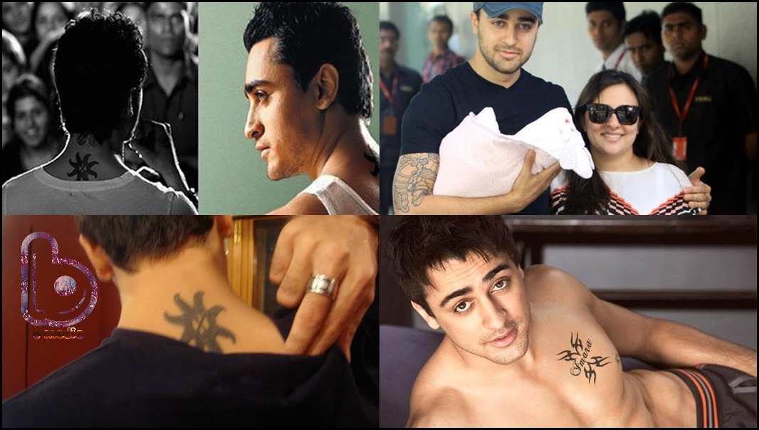 Bollywood Celebs and their Awesome Tattoos!- Imran