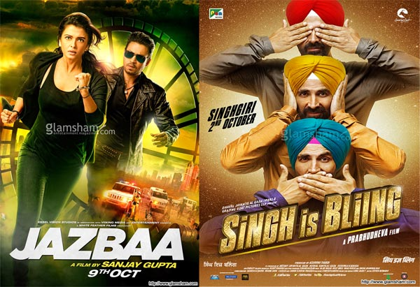 Box Office Report – Jazbaa, Singh Is Bling Struggled, Talvar Remains Strong
