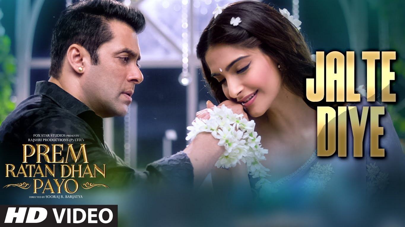Super-romantic song 'Jalte Diye' from Prem Ratan Dhan Payo
