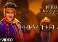 #PremLeela - First song from Prem Ratan Dhan Payo is out!