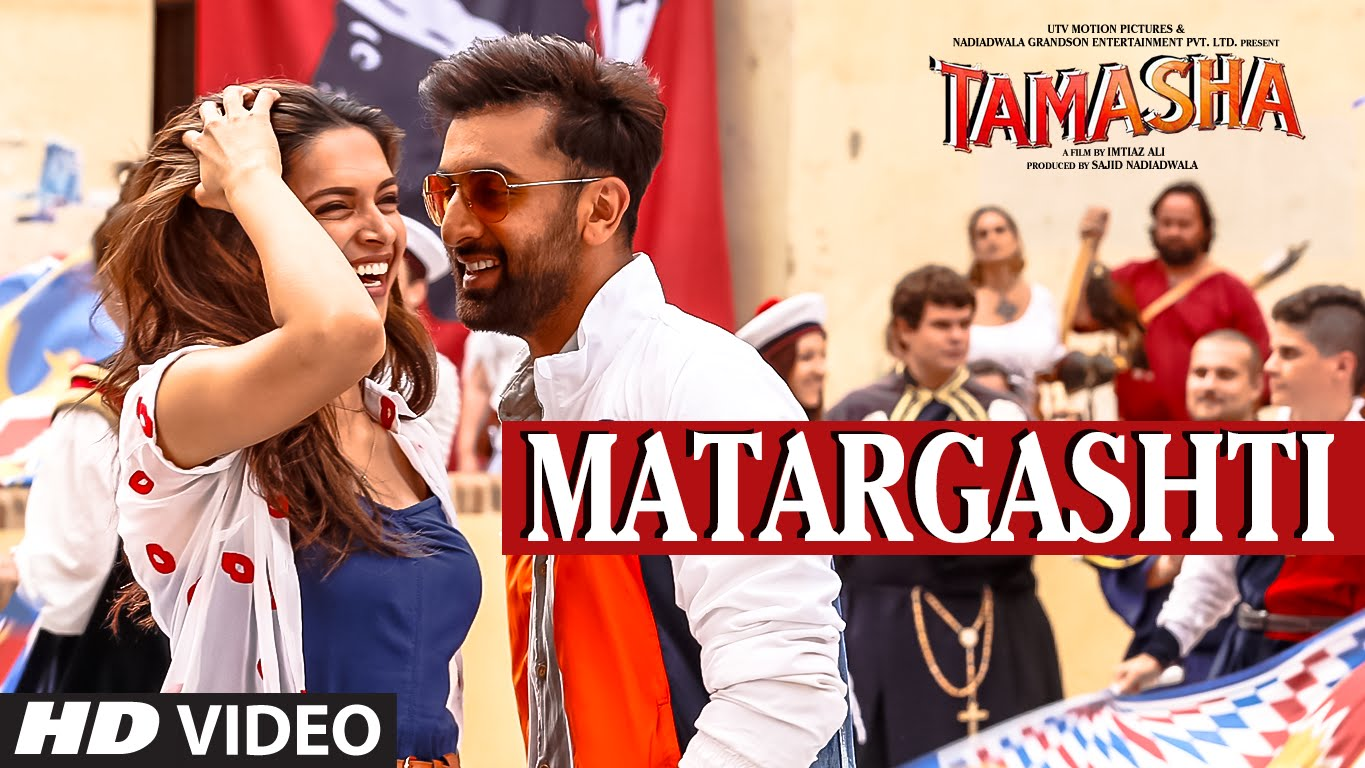 Set yourself free with Ranbir and Deepika to Tamasha's first song Matargashti