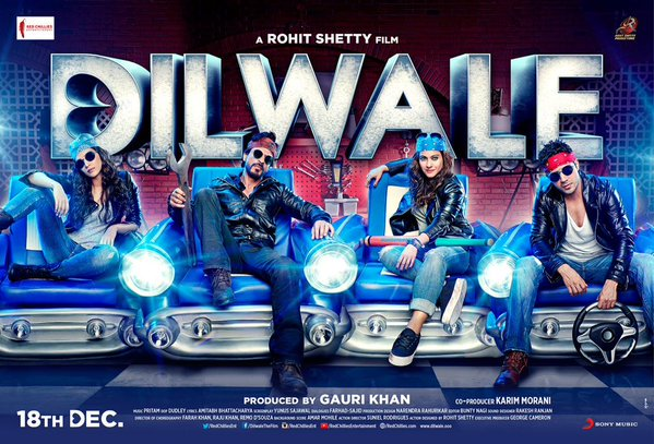 Dilwale Advance Booking Report – A pre-booked big opening weekend