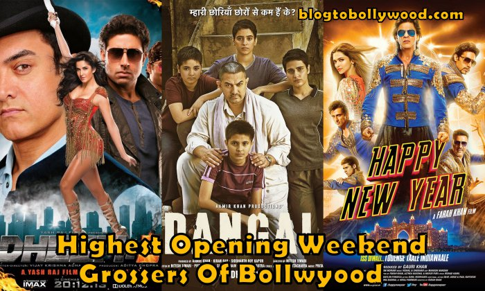 Highest Opening Weekend Grossers of Bollywood all time | List and Facts