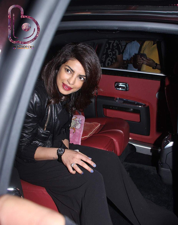 Priyanka Chopra is back in India for Bajirao Mastani promotions!
