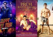 Prem Ratan Dhan Payo Vs Happy New Year Vs PK