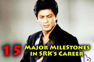 15 Major Milestones In Shah Rukh Khan's 25 Years Career | Journey Of SRKs' Magic