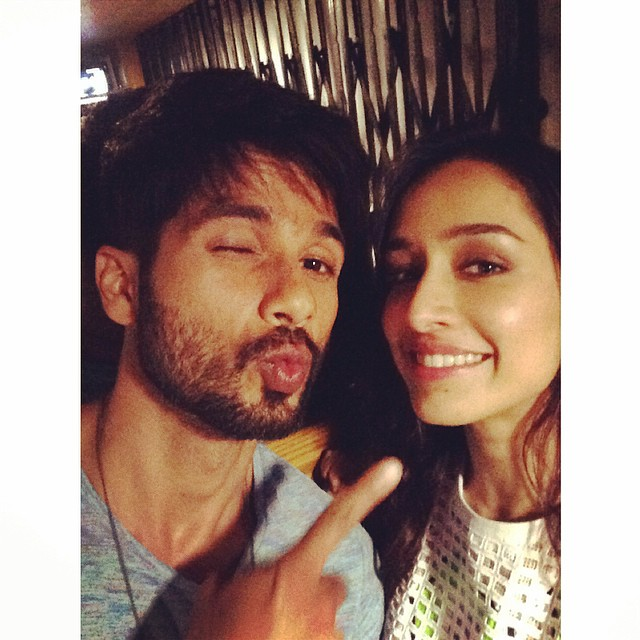 Shraddha Kapoor with Shahid