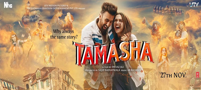 5 reasons why you need to watch Tamasha this weekend! - Not the same story