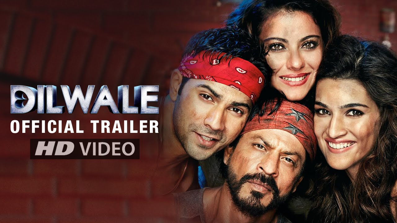 Official Trailer of 'Dilwale' Is Finally Out and Its A Complete Crap