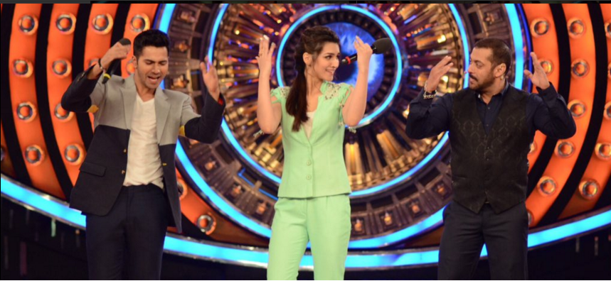 #DilwaleOnBiggBoss | Varun and Kriti promotes Dilwale On Bigg Boss