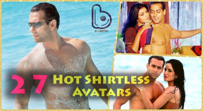 Salman Khan's shirtless avatar over the years in 27 Hot Pics