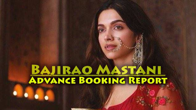 Bajirao Mastani Advance Booking is ruined by Dilwale – Complete Box Office Report