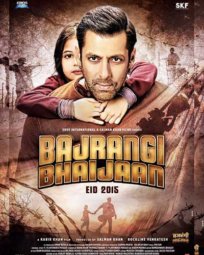 Bajrangi Bhaijaan is the most popular movie of 2015