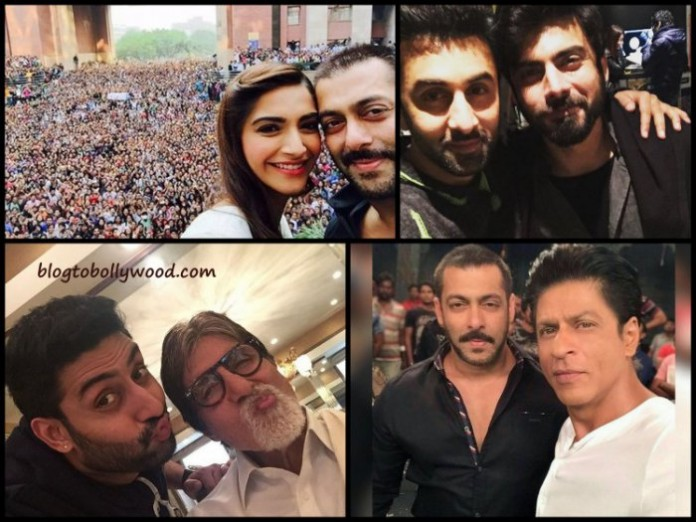 Best Bollywood selfies of 2015
