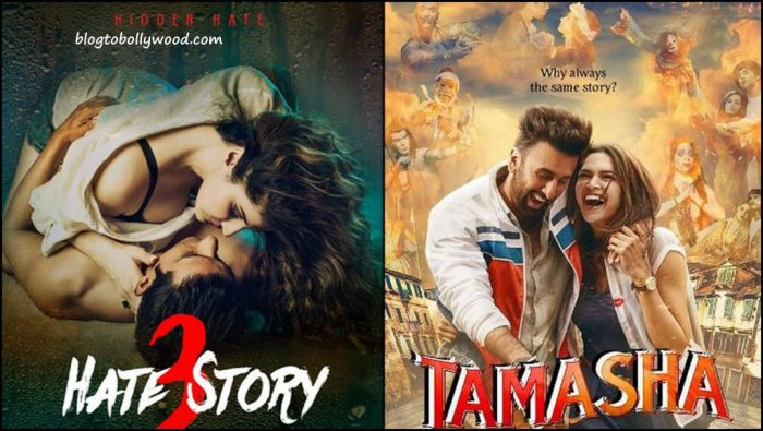 Box Office Report Hate Story 3 Crosses 50 Crores, Tamasha Over